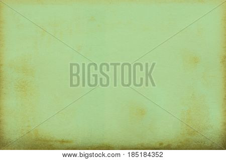 Old green paper texture background for design