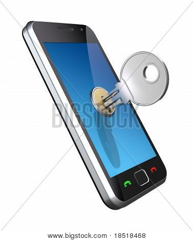 Locked phone