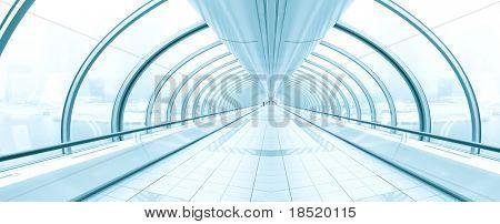zeitgenössische Flughafen Innenraum