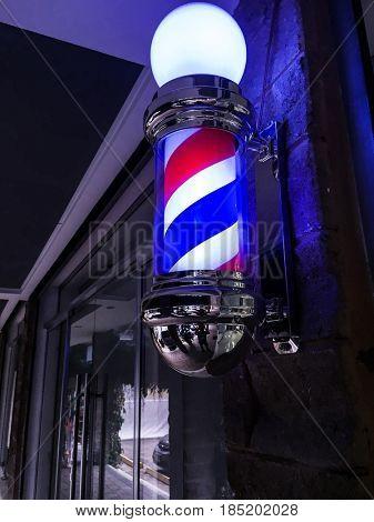 Barber Shop door sign