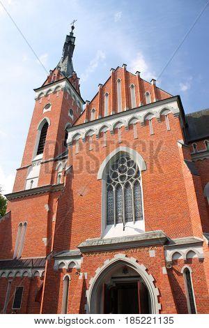 Minor Basilica of Sts. Wojciech w Wawolnica (Poland) - Shrine of Our Lady.