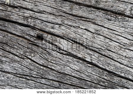The surface of the old cracked pine as a background