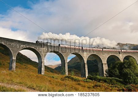 Glenfinnan Viaduct, Scottish Highlands