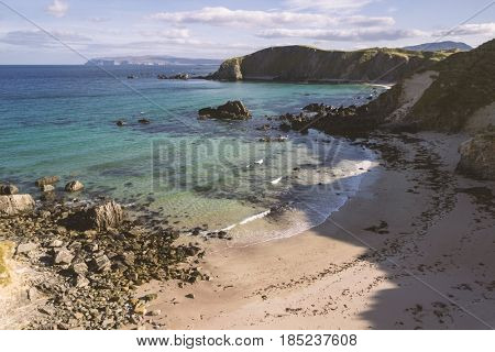 Seashore at Balnakeil, Scotland