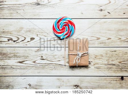 Lollipop And Cute Gift