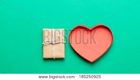 Heart Shaped Box And Gift