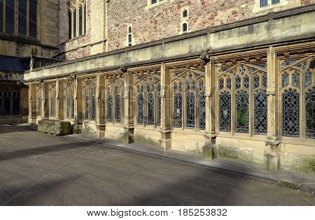 Bristal Cathedral Cloister Walkway