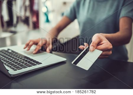 At The Cash Desk