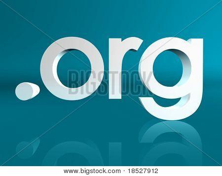 Dot ORG Domain Name Address