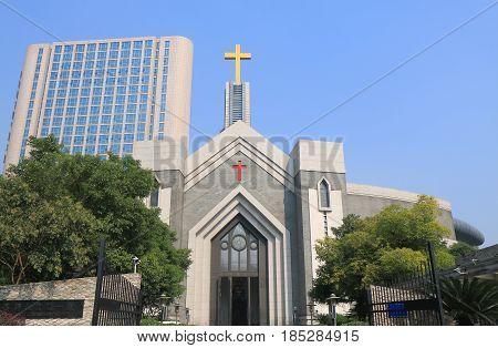 Hangzhou Chongyi Christian church in Hangzhou China