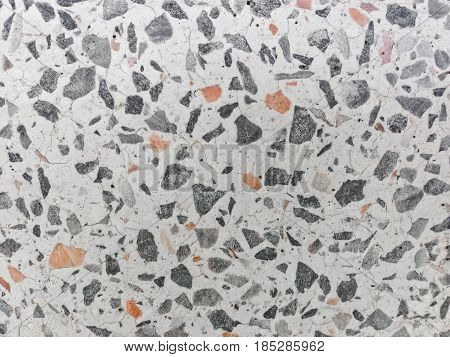 Patterned texture Terrazzo Floor, polished stone pattern background