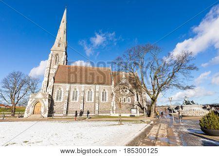 St Alban's Church at Copenhagen Denmark