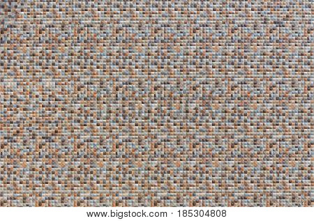 Colored Square Mosaic Background.