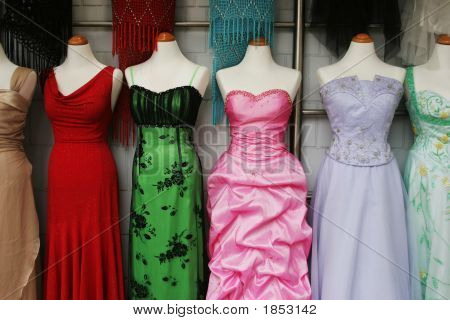 Evening Gowns.