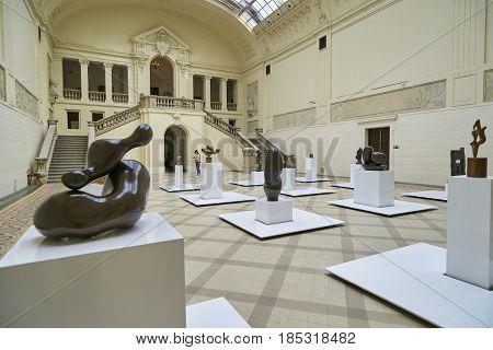 Poznan, Poland - April 29 2017: Interiors Of A National Museum O