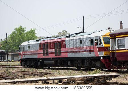 Hitachi Diesel Locomotive No.4512 Train No.14