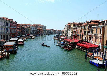 City on the water - Venezia, Grand Canal in Italy