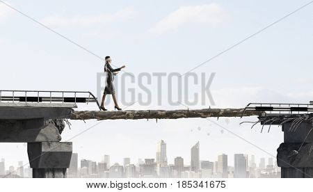 Risking and making careful steps