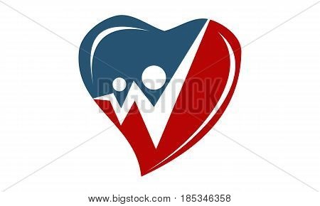 This image describe about Heart Valentine Share