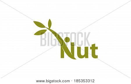 This image describe about Nut Template Logo