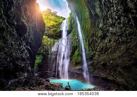 Madakaripura Waterfall is the tallest waterfall in Java and the second tallest waterfall in Indonesia.
