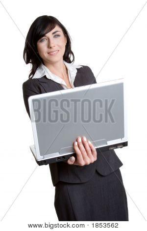 Business Laptop Woman