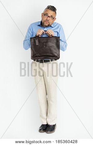 Adult Bag Male Briefcase Concept