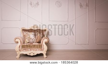 A Luxurious Interior In The Vintage Style