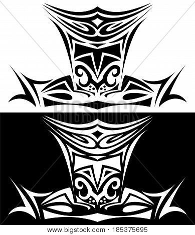 Ornamental Knight for pc and board game design