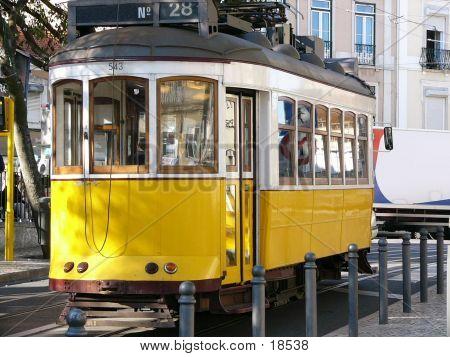 Yellow Tram