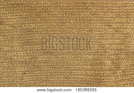 Towel knitted light brownish close up background