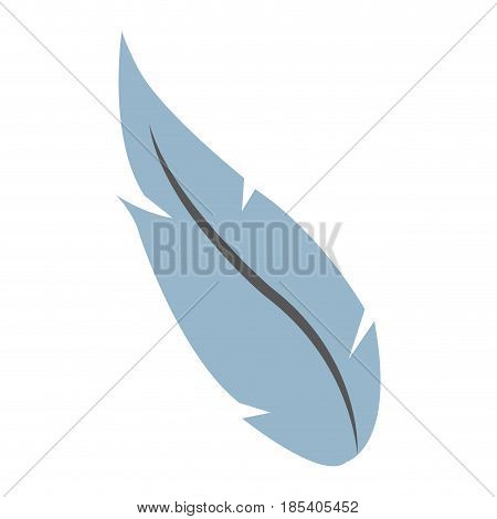 feather ink pen quill writing image vector illustration