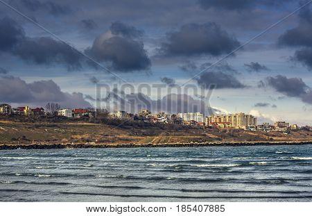 Black Sea Coast, Constanta, Romania