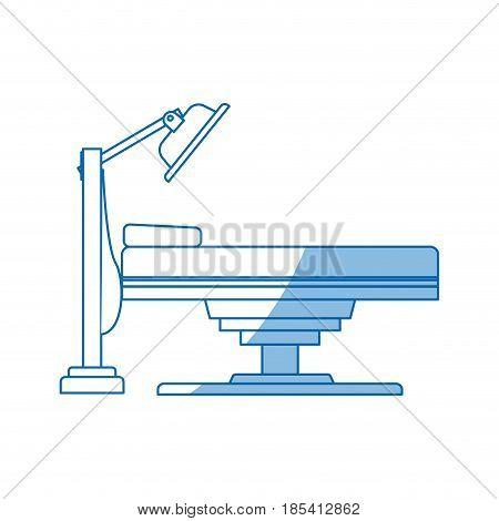 equipment medical apparatus exam technology vector illustration