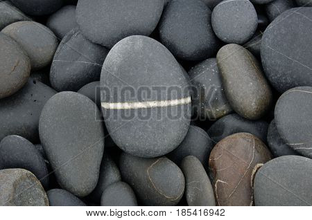 stone background - pebble stones texture - stone background