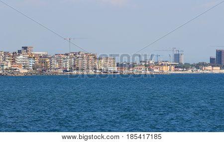 south west coast of Salerno Campania Italy