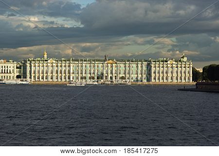 The State Hermitage Museum in Saint Petersburg Russia