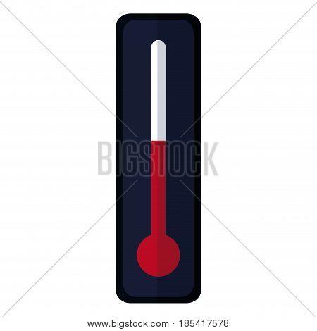 thermometer temperature hot measuring medicine vector illustration