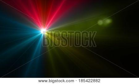 Three Color Flash Flare