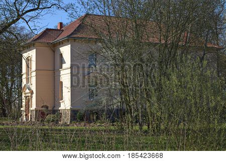 Manor House Listed As Monument In Klein Zastrow, Germany