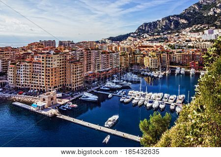 Monaco and Monte Carlo principality, south of France