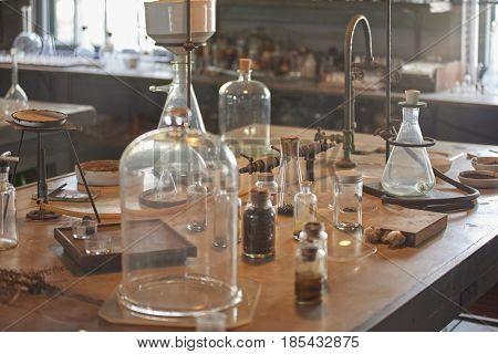 Thomas Edison's lab at Edison & Ford Museum