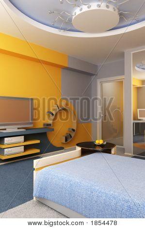Interior Of The Children'S Room