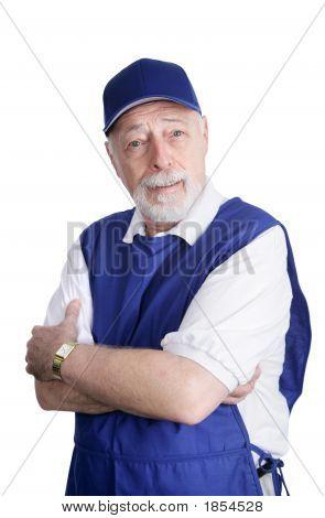 Senior Worker - Disbelief
