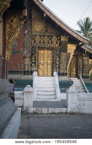 Laos Luang Prabang Wat Xieng Thong