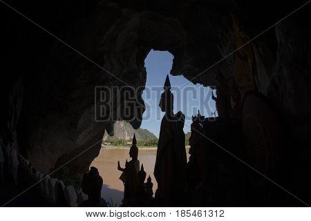 Laos Luang Prabang Pak Ou Caves