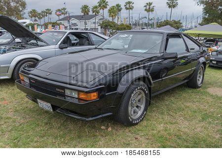 Toyota Supra 1984 On Display