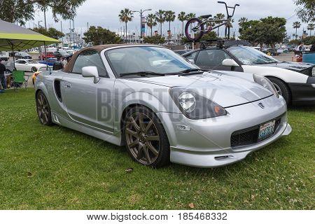 Toyota Mr2 2001 On Display