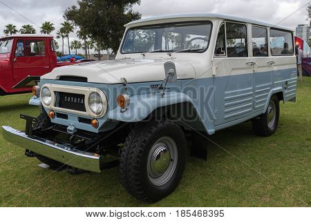 Toyota Fj$% Land Cruiser 1964 On Display