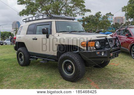 Toyota Fj Cruiser On Display